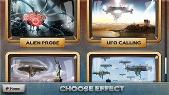 FxGuru App - Choose UFO Alien Effects