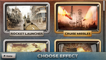 FxGuru App - Choose Action Movie Effects
