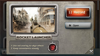 FxGuru App - Rocket Launcher Effect Open Screen