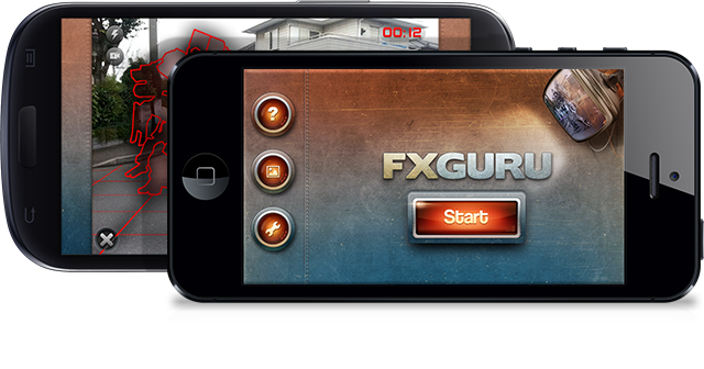 FxGuru on multiple phone platforms